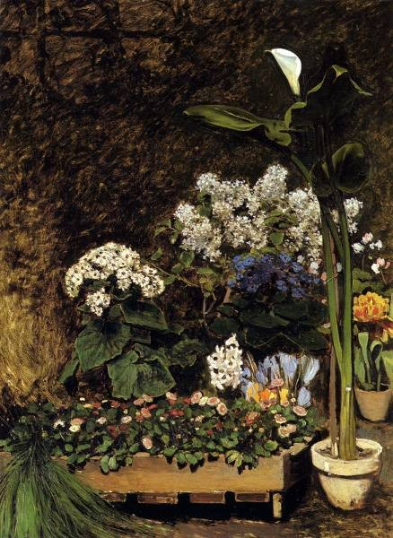 Renoir Auguste Mixed Spring Flowers